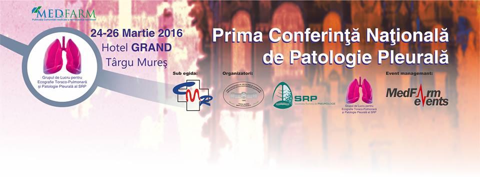 Prima Conferință Națională de Patologie Pleurală la Tirgu Mureș