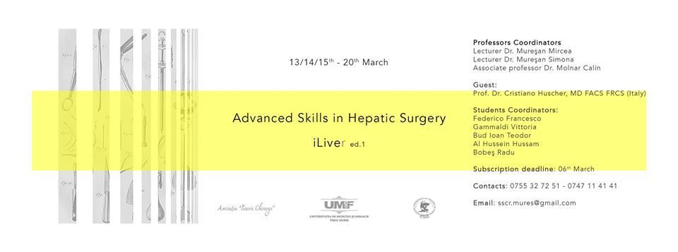 iLiver – tehnici avansate de chirurgie hepatica