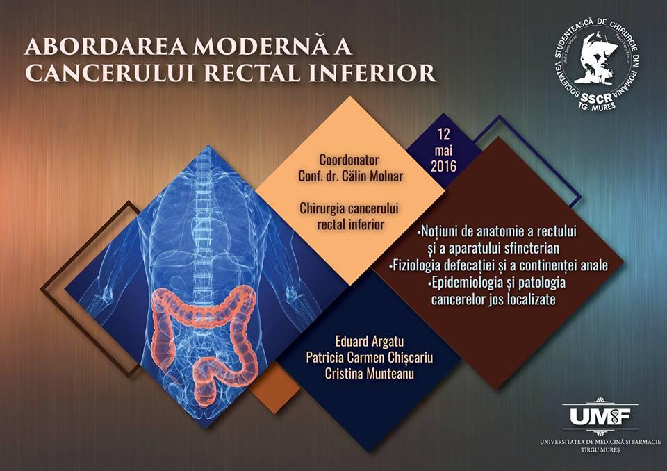 Abordarea modernă a cancerului rectal inferior