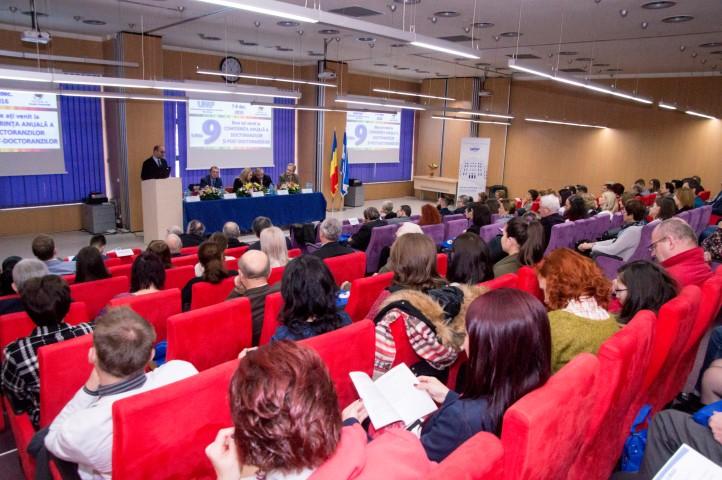 A 9-a Conferință a doctoranzilor