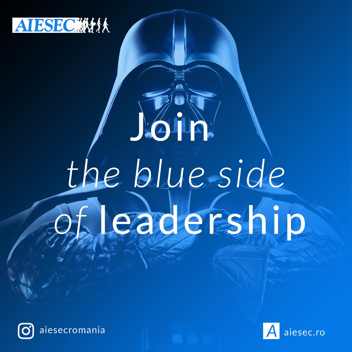 AIESEC Mureş recrutează noi membri!