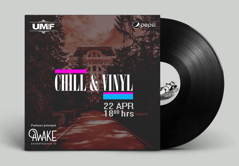 Chill și Vinyl în Parcul Central UMF