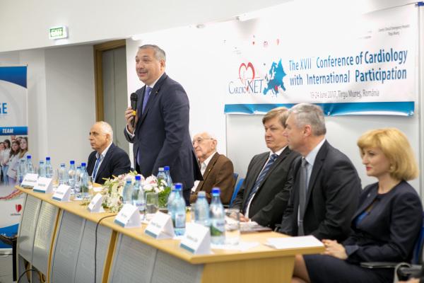 Centrul universitar Tîrgu Mureș, în top în domeniul cardiologiei