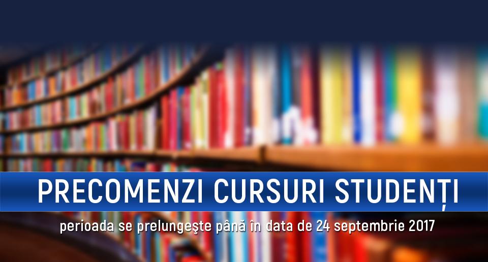 S-a prelungit sesiunea de precomenzi la Editura University Press