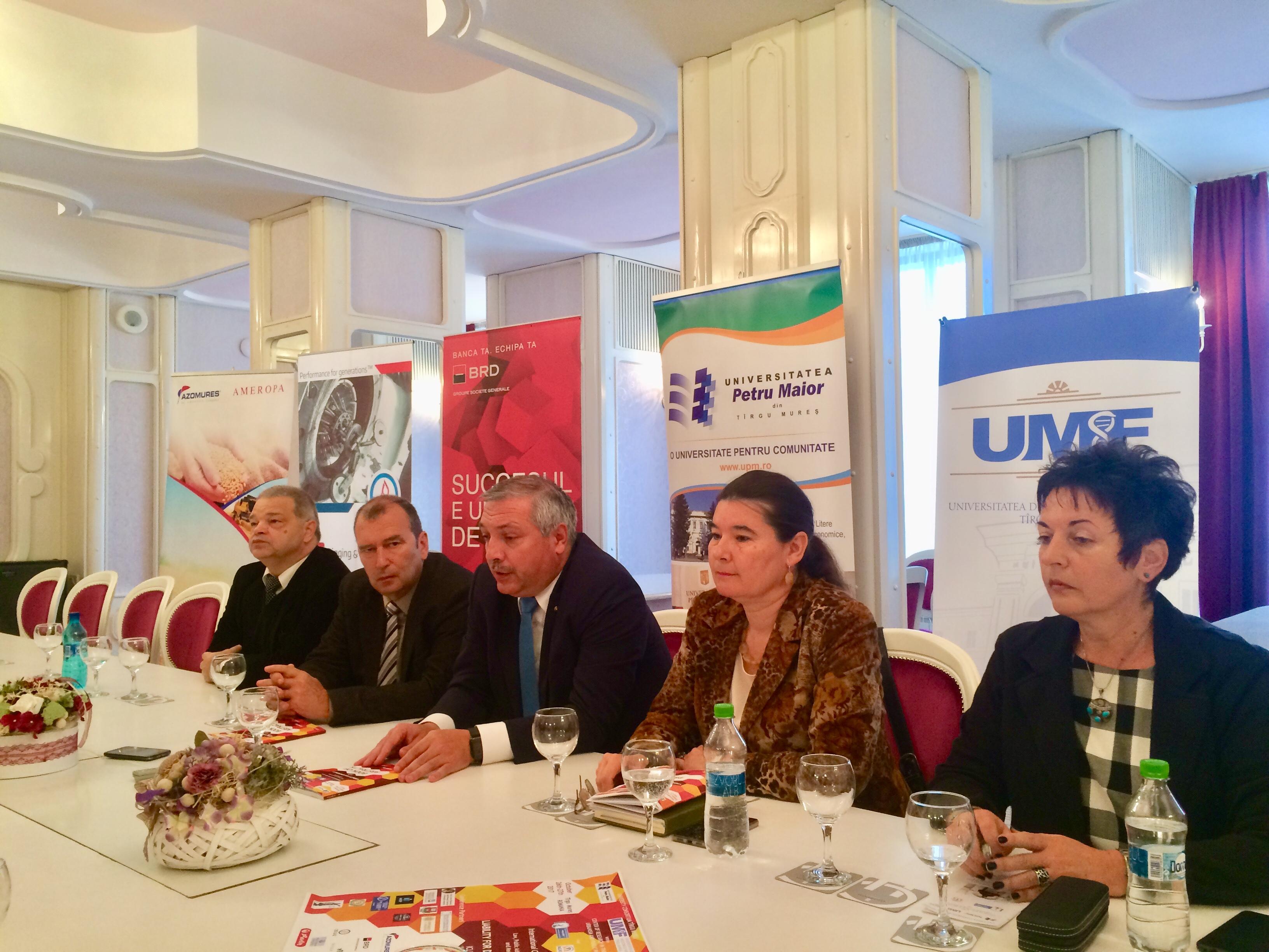 Rectorul UMF Tîrgu Mureș, mesaj de sprijinire a universităților de către autoritățile locale
