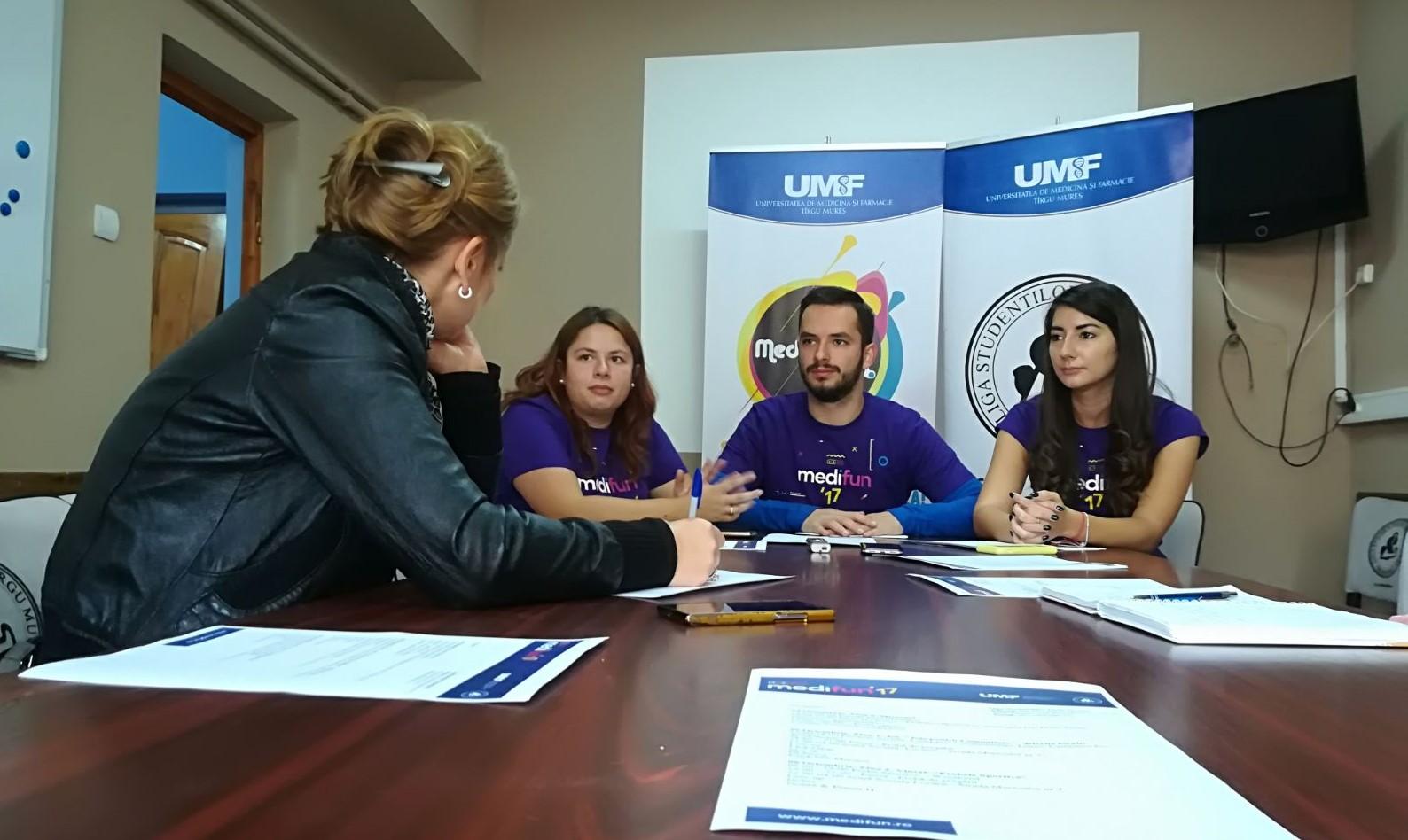 Medifun, festivalul care încurajează pasiunile studenților UMF Tîrgu Mureș