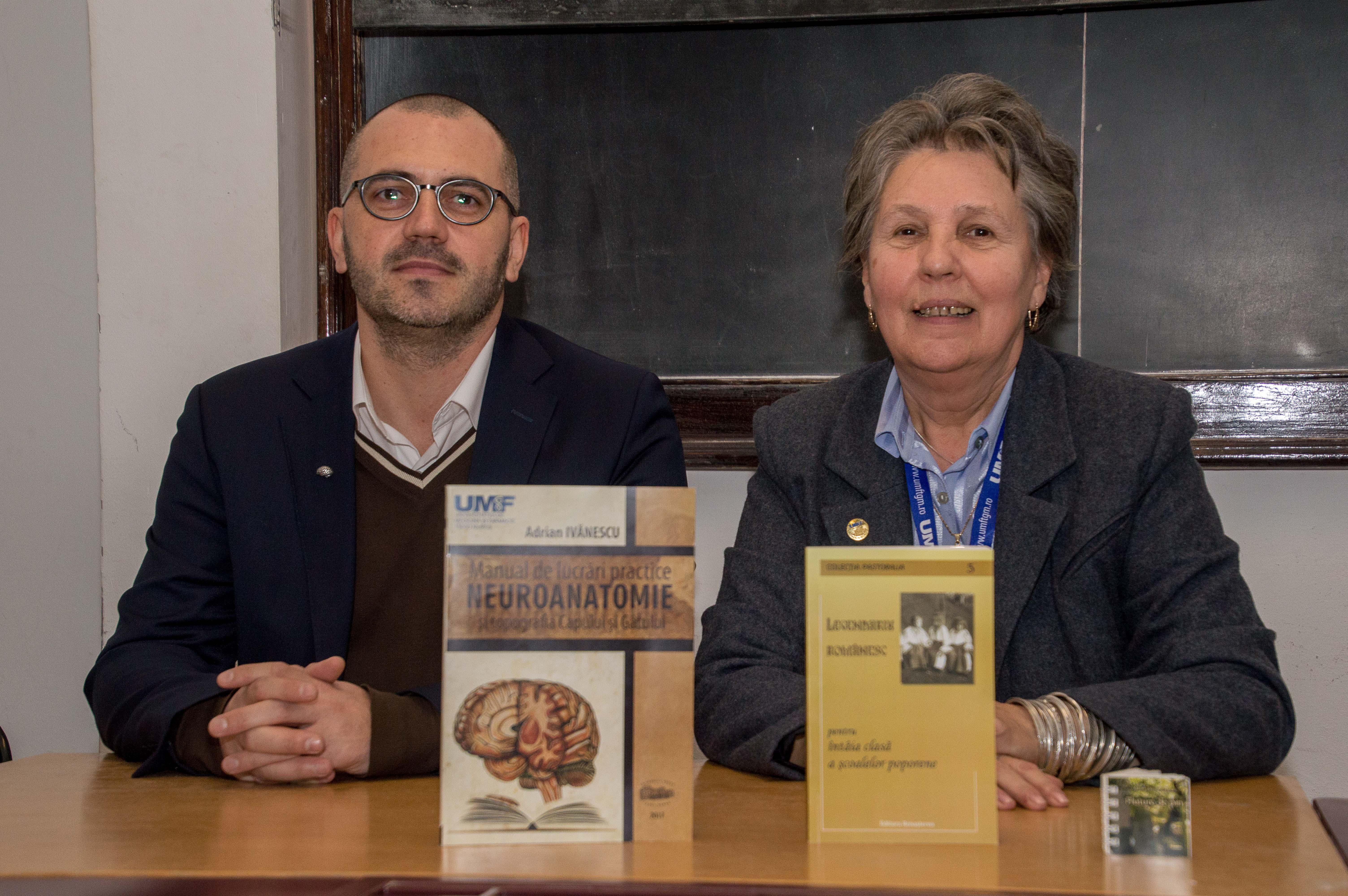 Zilele UMF Tîrgu Mureș. Salon de carte universitară și lansări de carte