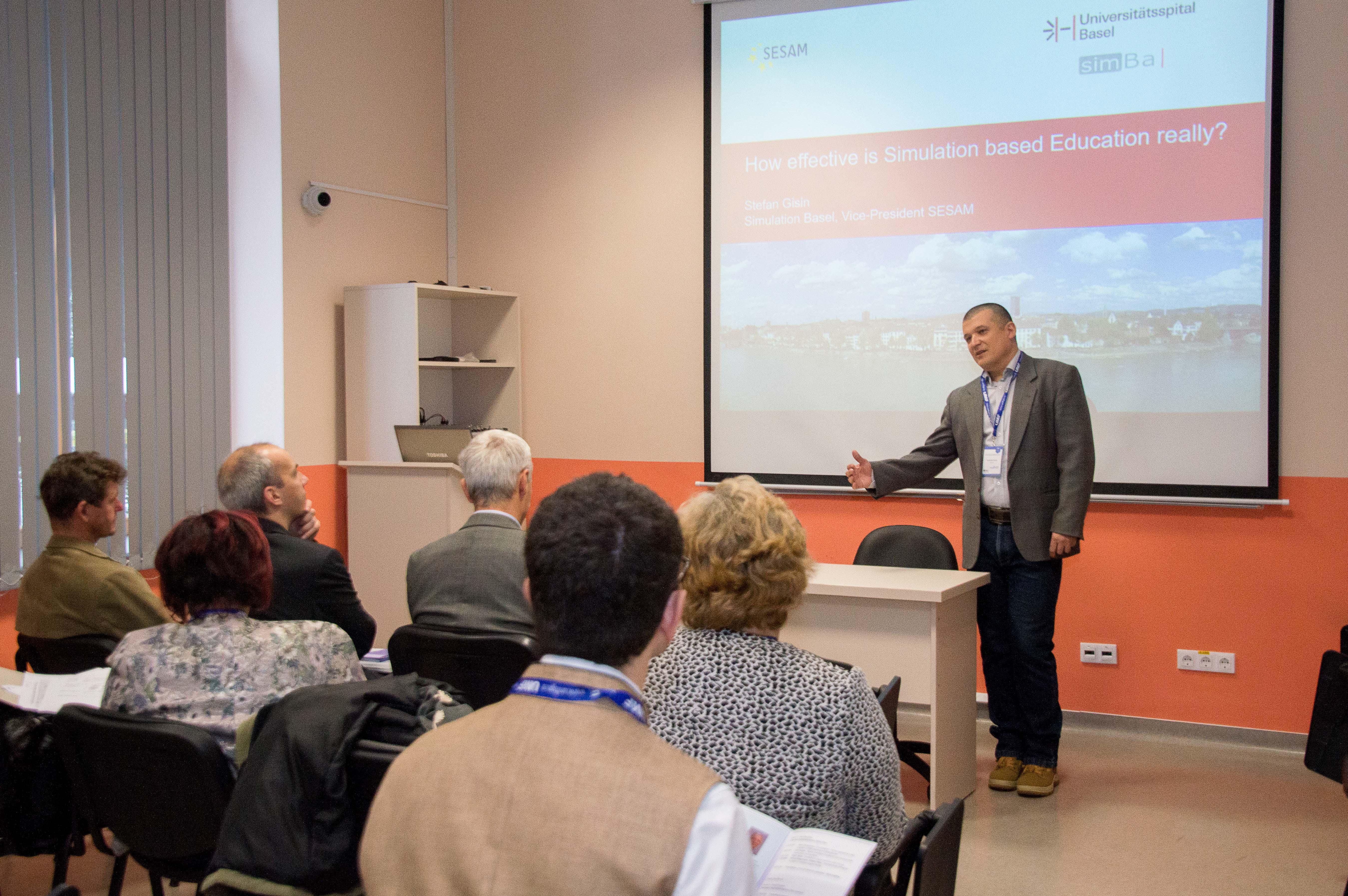 Lectori  de renume din țară și din străinătate, la Congresul de Simulare Medicală