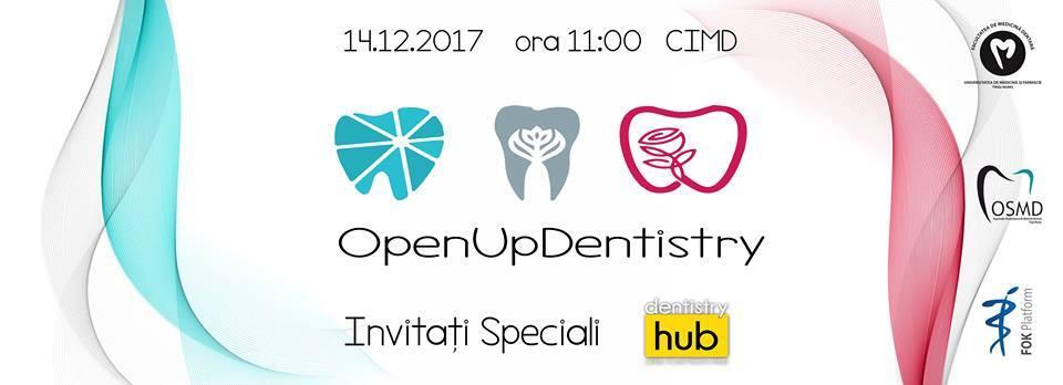Invitați de renume din domeniul stomatologiei, la #OpenUpDentistry