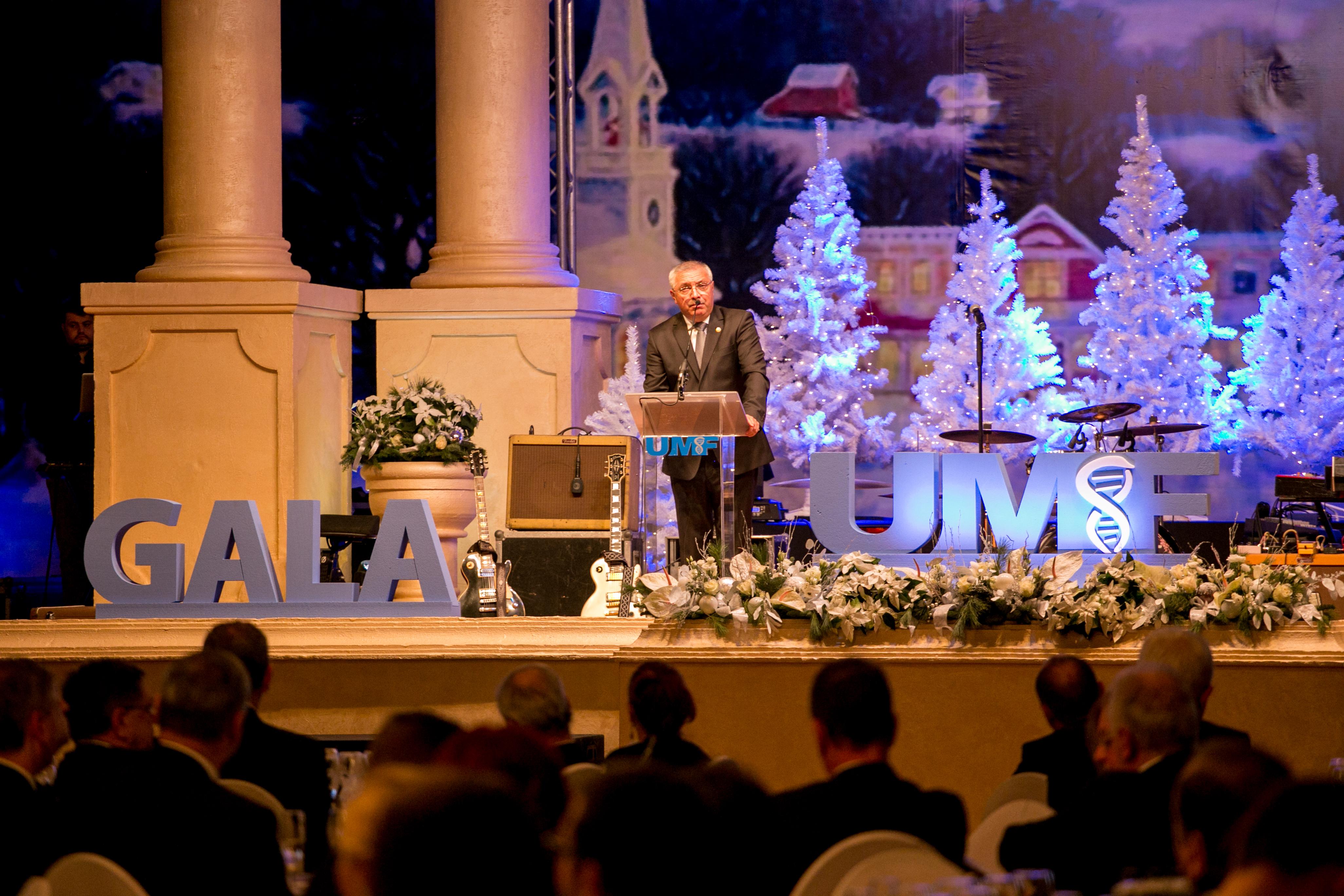Gala festivă UMF Tîrgu Mureș. Obiectivele anului 2018, prezentate în discursul anual al rectorului