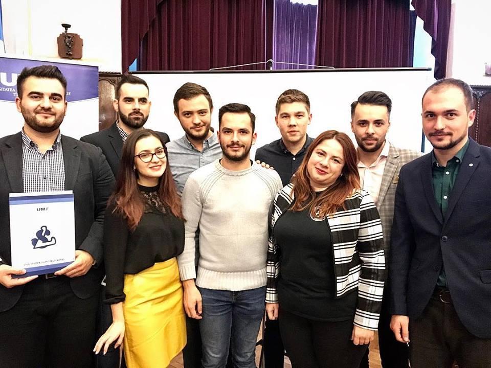 Schimbări în conducerea Ligii Studenților din Tîrgu Mureș