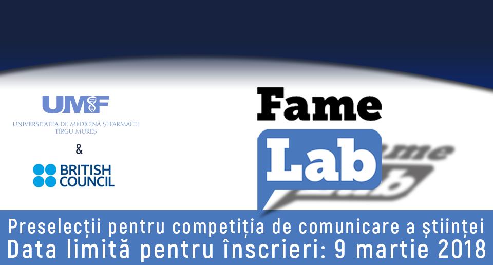 UMF Tîrgu Mureș susţine comunicarea ştiinţei în rândul tinerilor