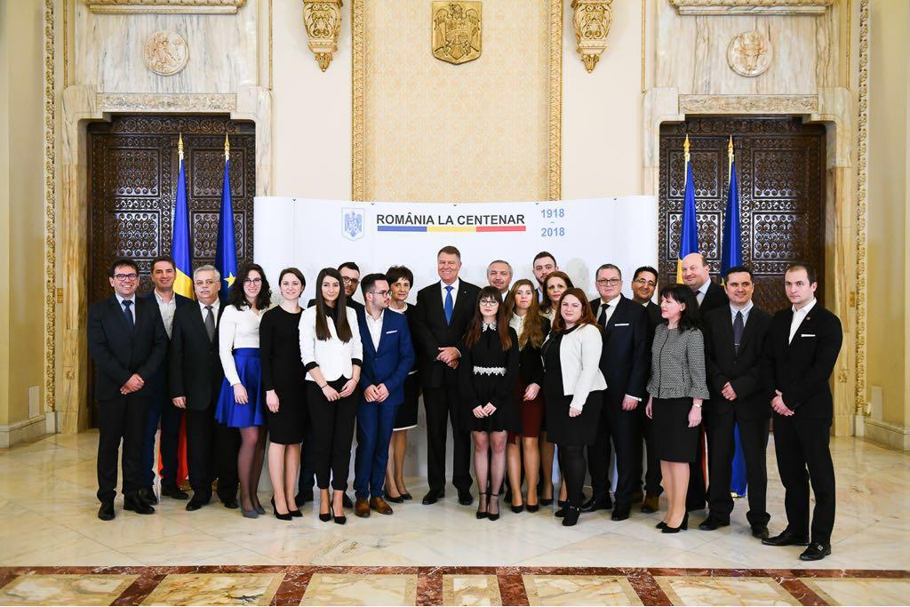 Proiectele UMF Tîrgu Mureș dedicate Centenarului României, prezentate Președintelui Klaus Iohannis