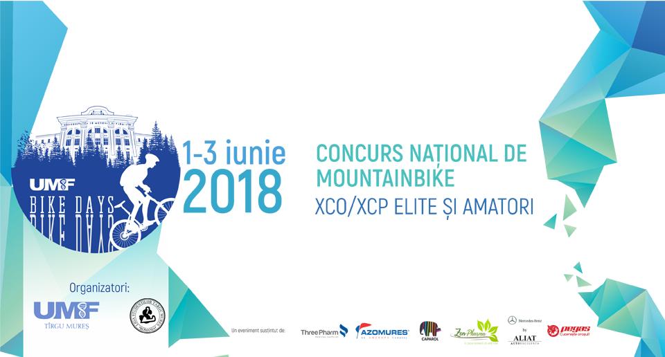 UMF Tîrgu Mureș organizează, în premieră, un concurs național de mountainbike