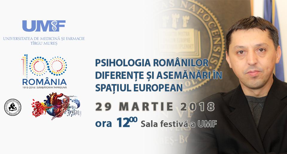 Psihologia românilor. Diferențe și asemănări în spațiul european