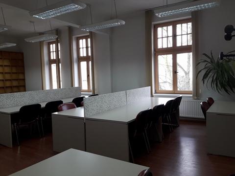 O nouă sală de studiu la Biblioteca UMF Tîrgu Mureș