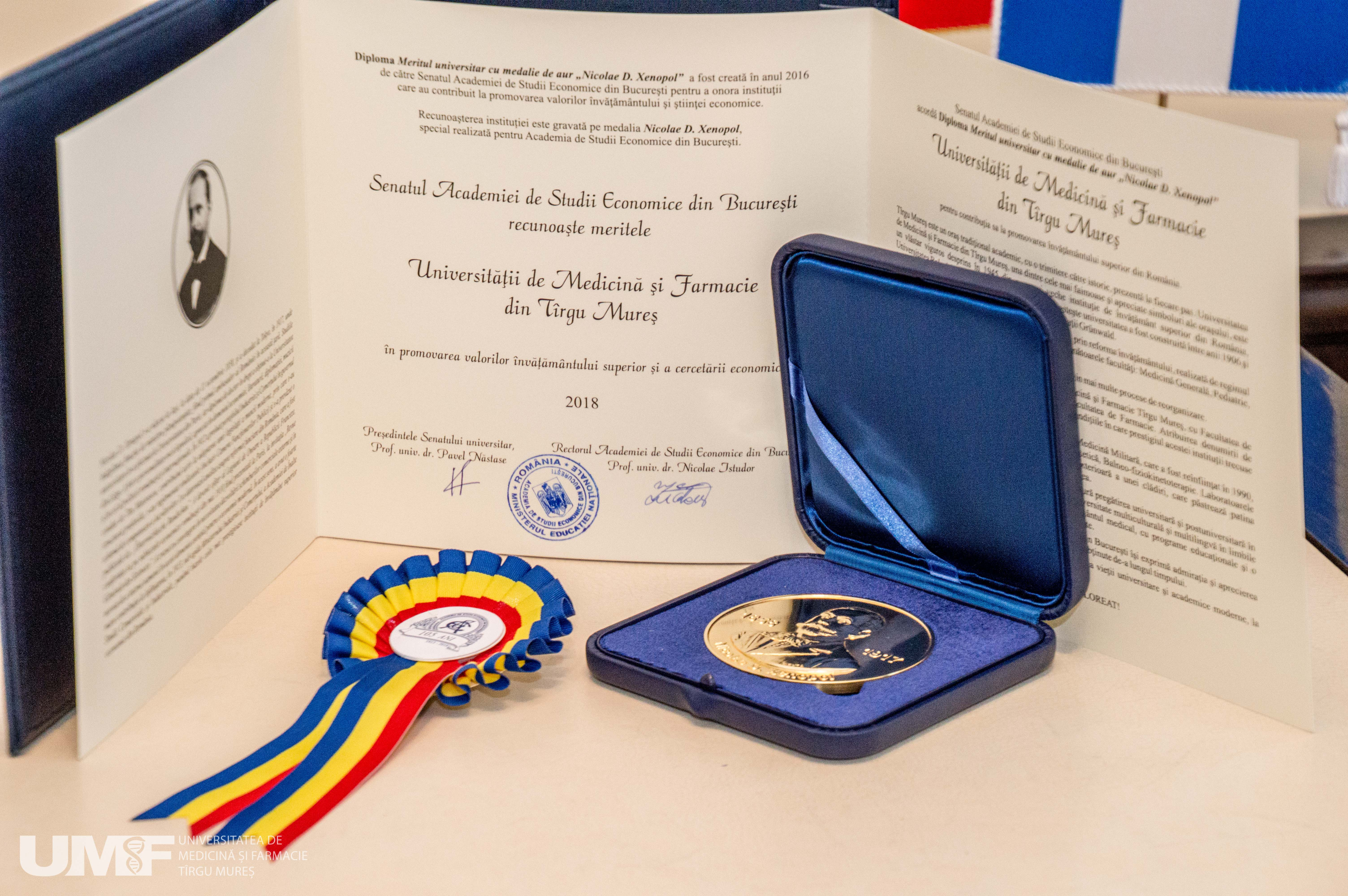 2 Medalie Academie Studii Economice