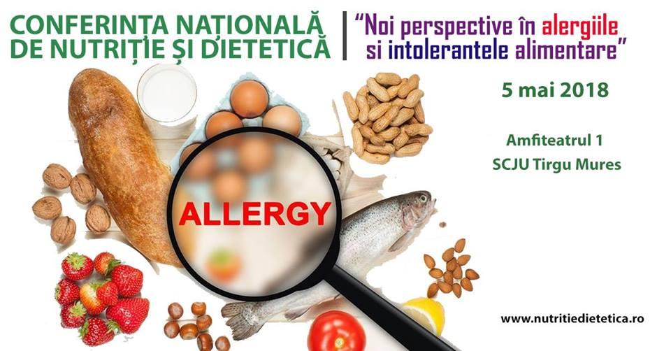 Noi perspective în alergiile și intoleranțele alimentare