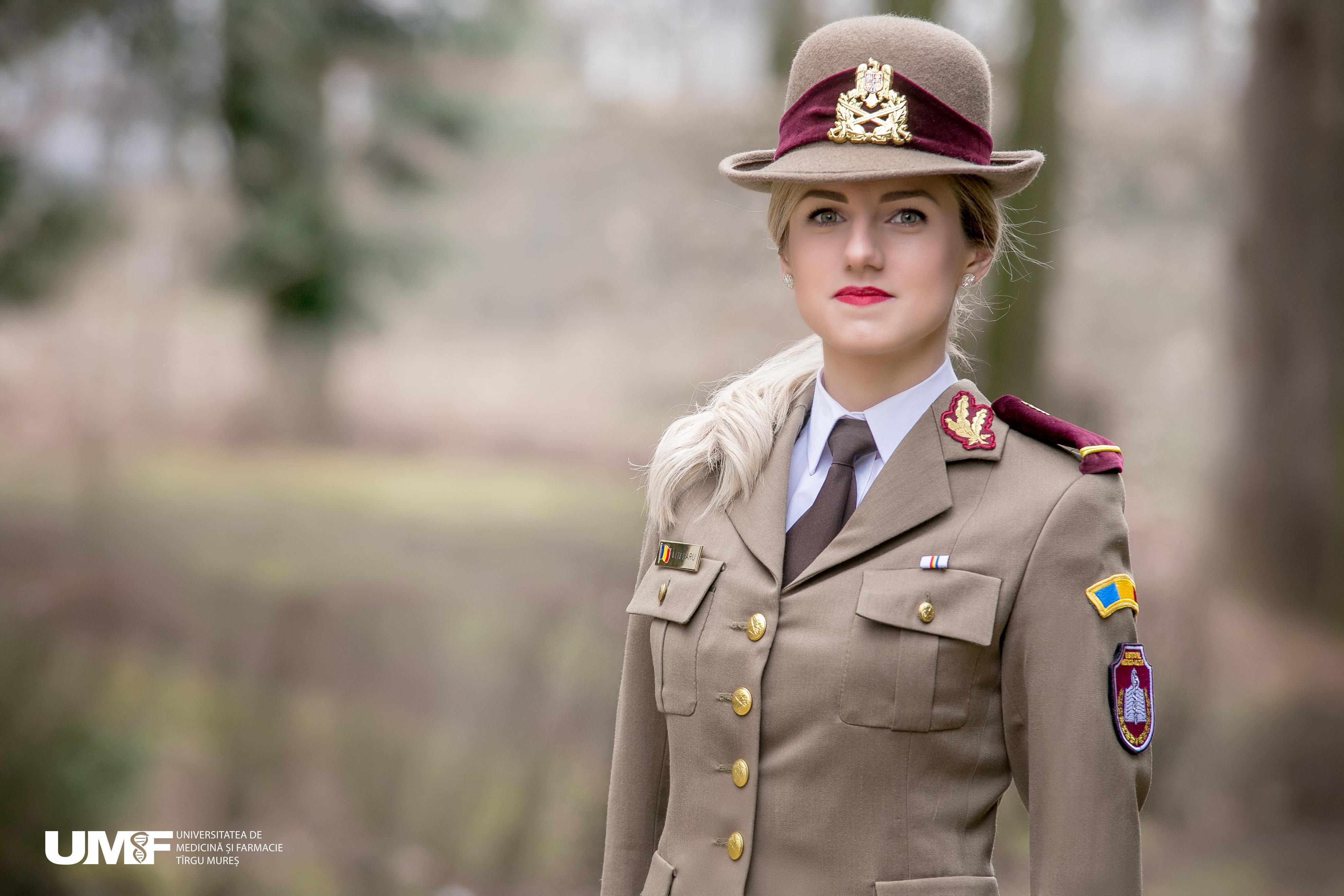 Made in UMF. Elena Vițelaru, anul VI, despre avantajele de a fi student la Medicină Militară