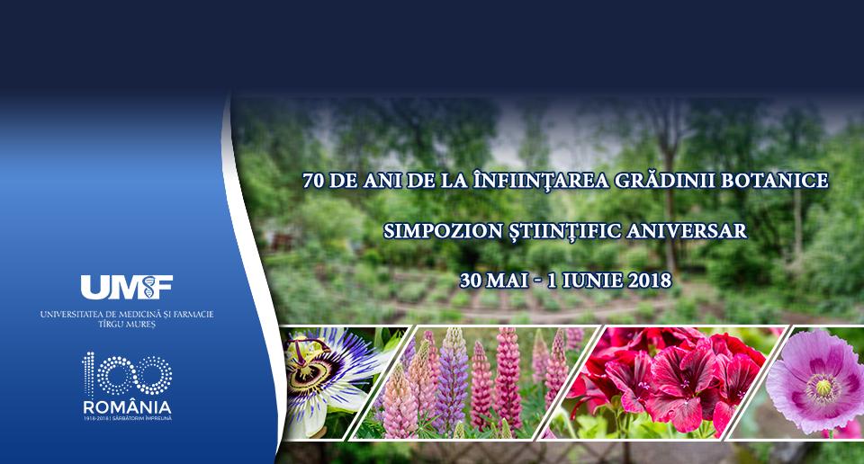 Noutățile simpozionului științific dedicat aniversării a 70 de ani de la înfiinţarea Grădinii Botanice