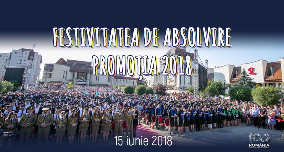 Festivitatea de absolvire a UMF Tîrgu Mureș