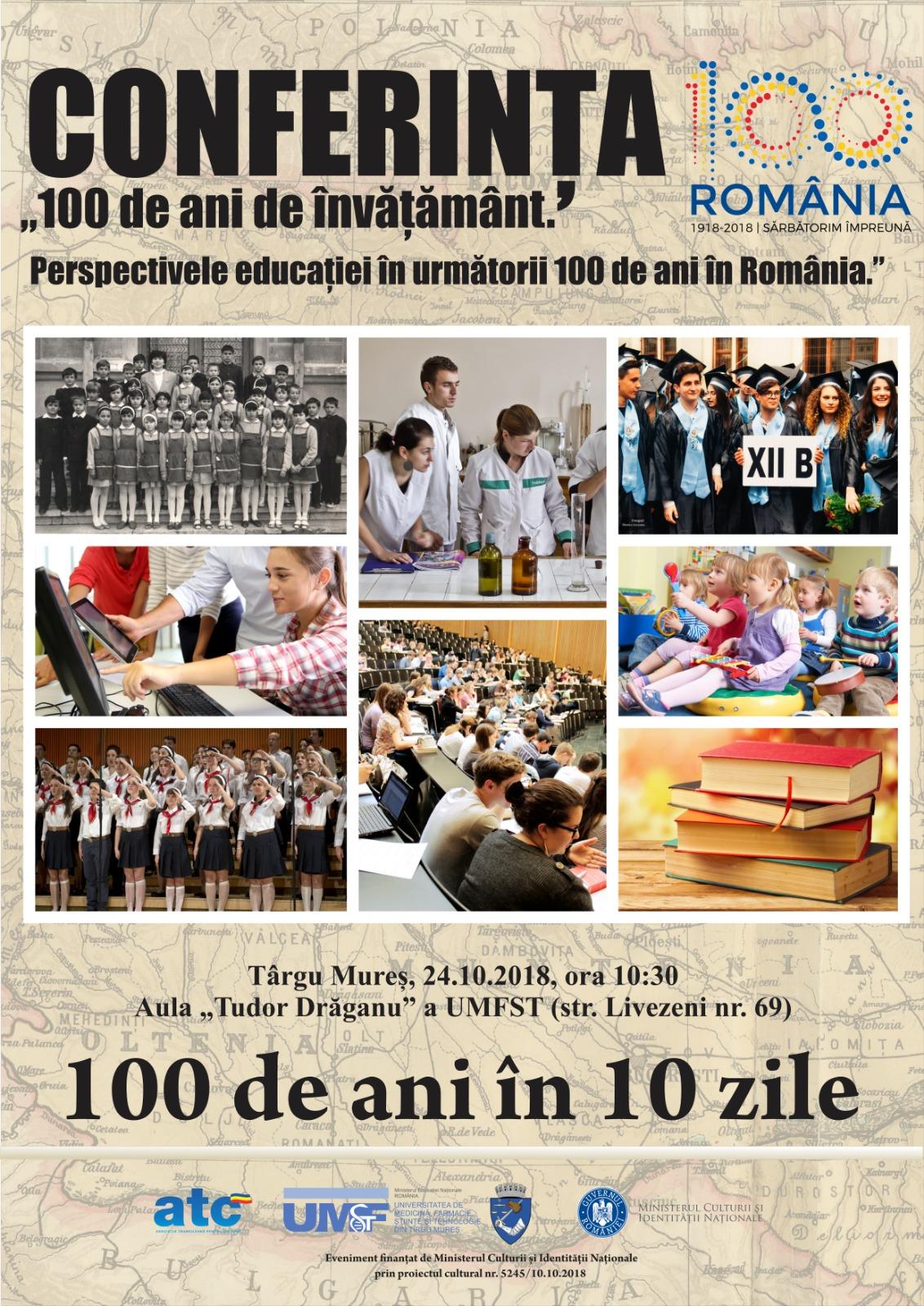 100 de ani de invatamant