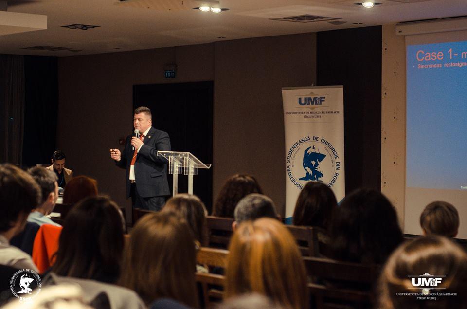 Lectori de renume din țară și din străinătate, la Conferința Societății Studențești de Chirurgie din Târgu Mureș