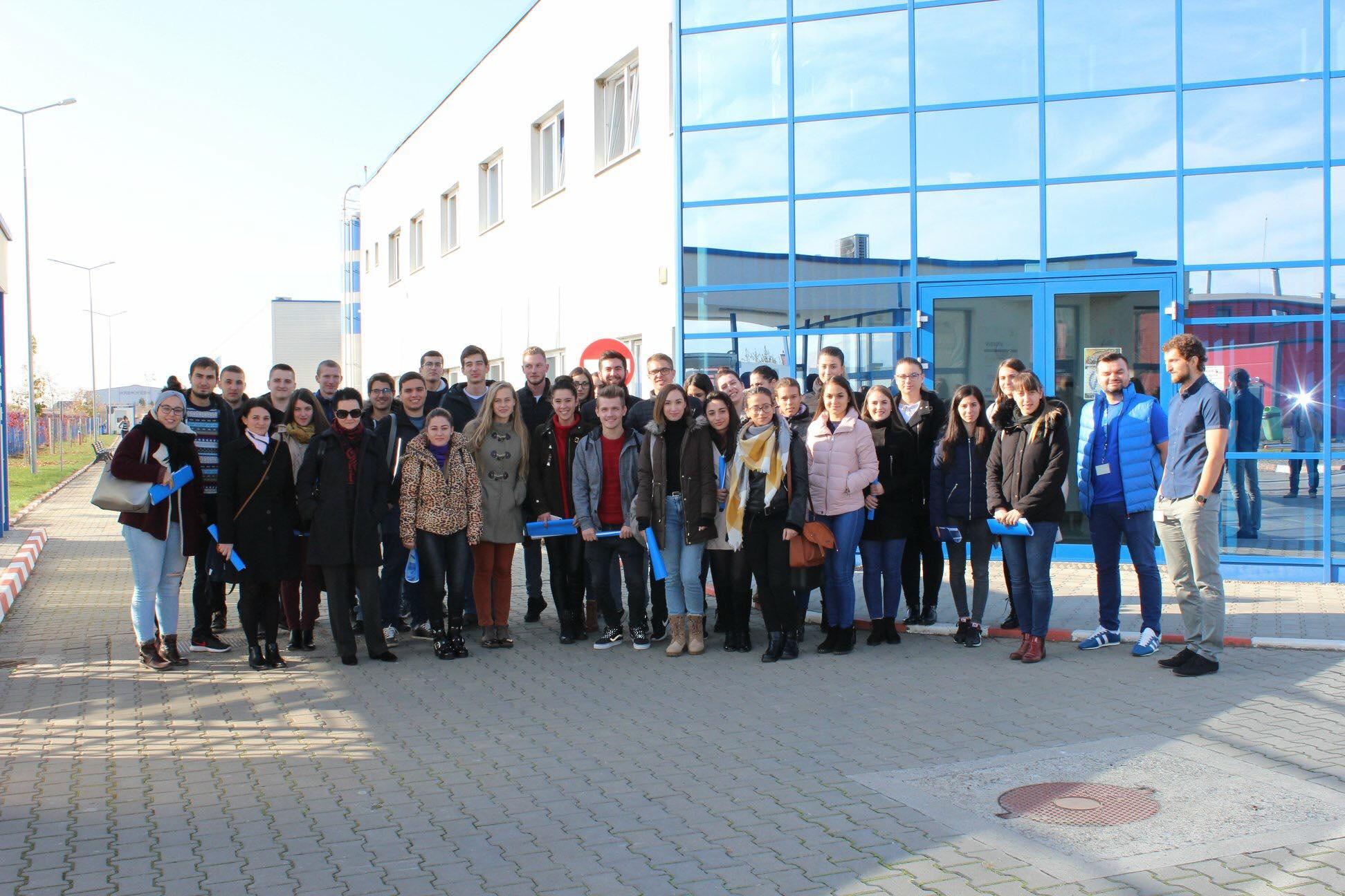 Studenții la Inginerie, vizită de lucru la Hirschmann Automotive