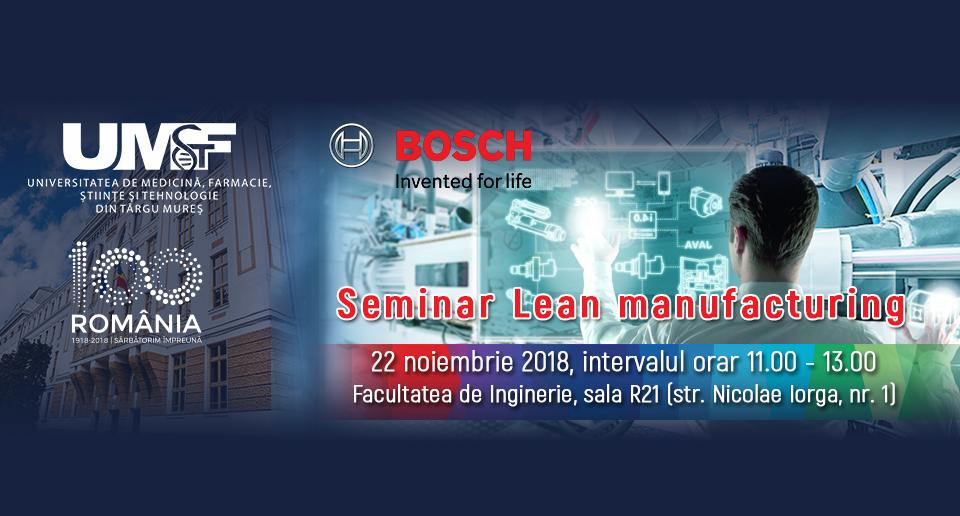 Un nou eveniment marca Bosch pentru viitorii ingineri