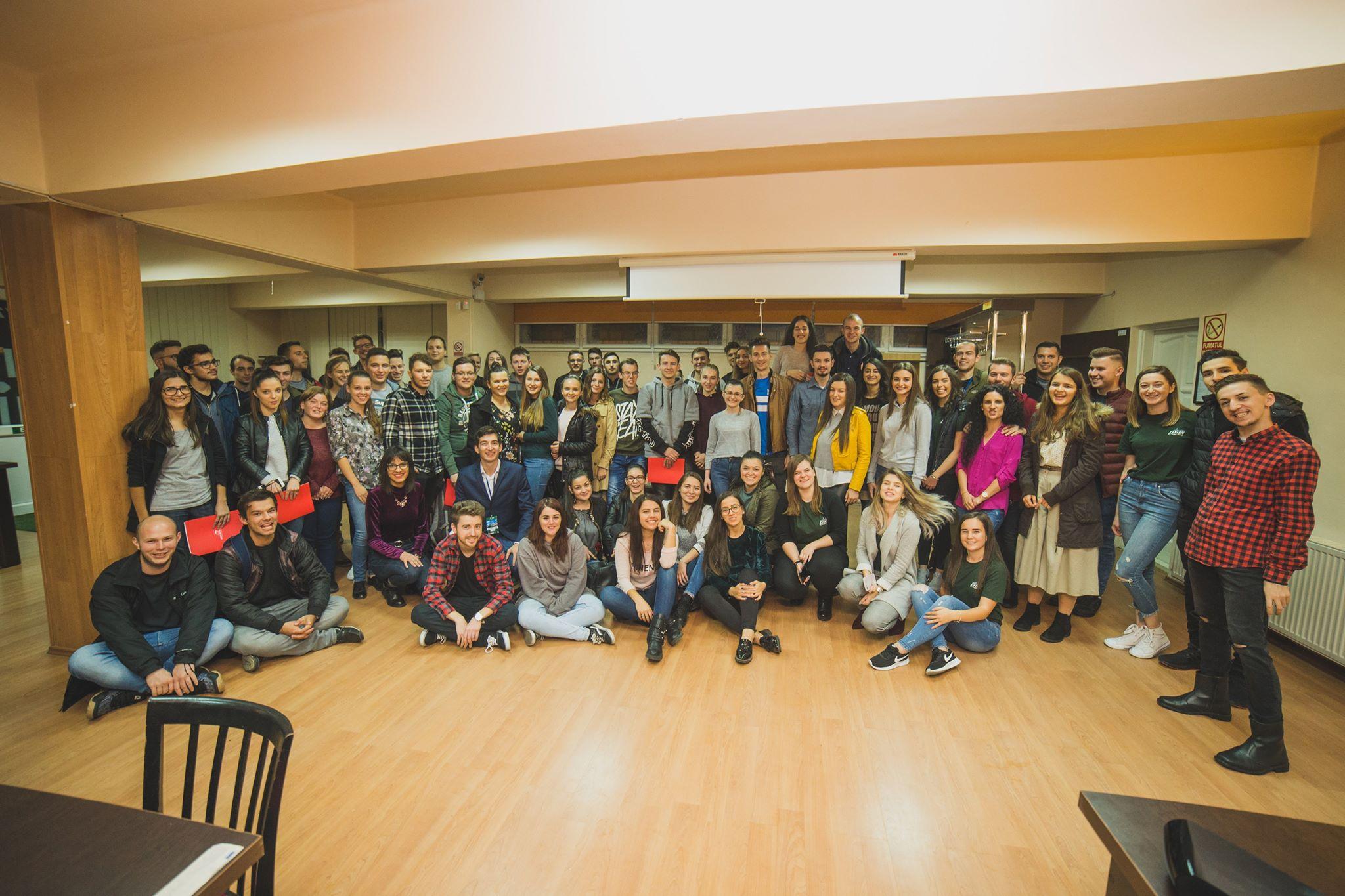 Studenții de la Inginerie promovează voluntariatul pentru dezvoltarea profesională și personală