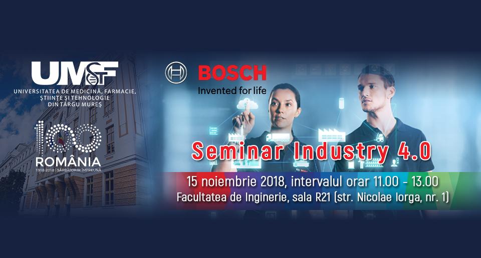 Conceptele Industry 4.0 și Lean manufacturing, prezentate studenților de specialiștii Bosch Automotive
