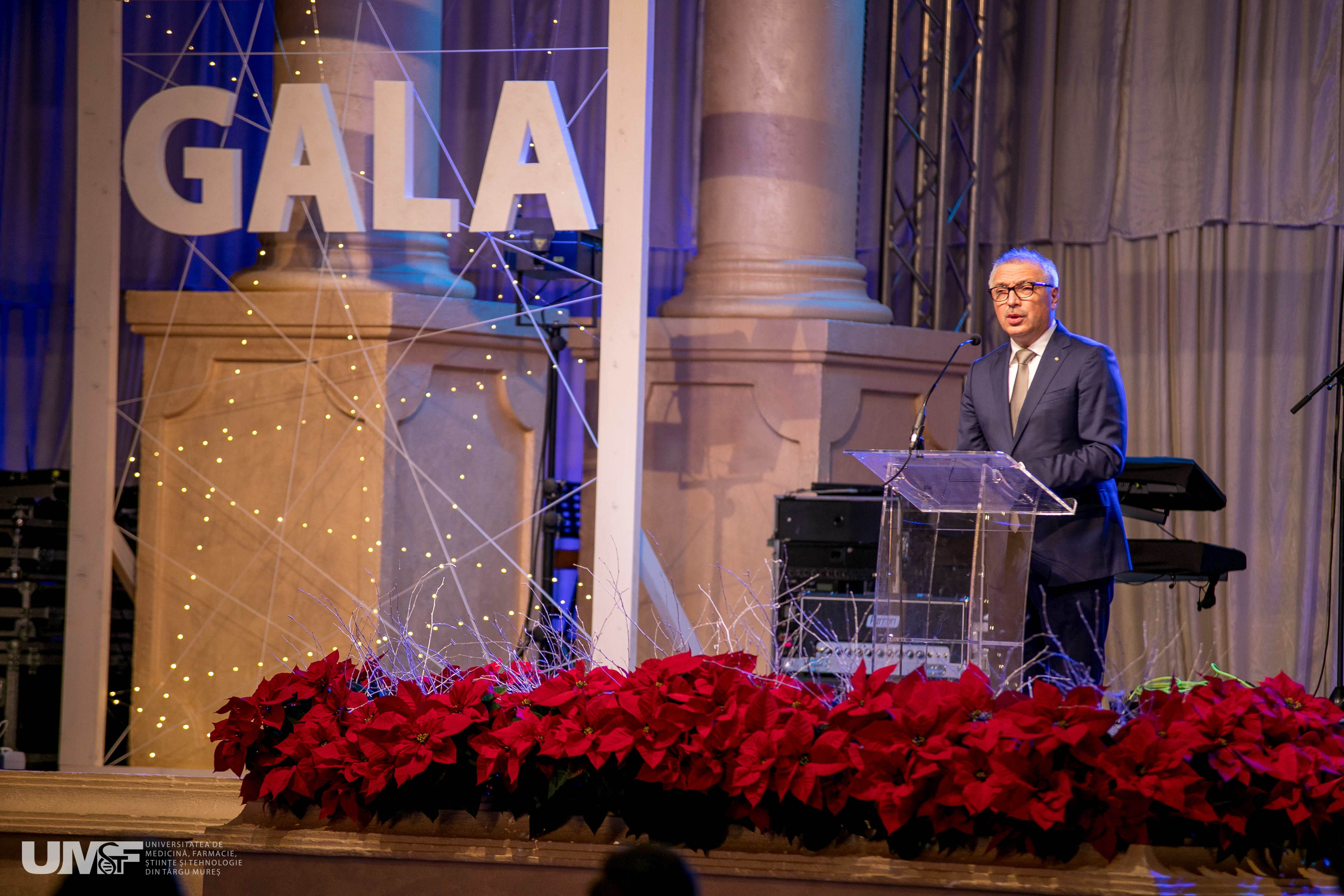 Gala festivă UMFST. Obiectivele anului 2019, prezentate în discursul anual al Rectorului