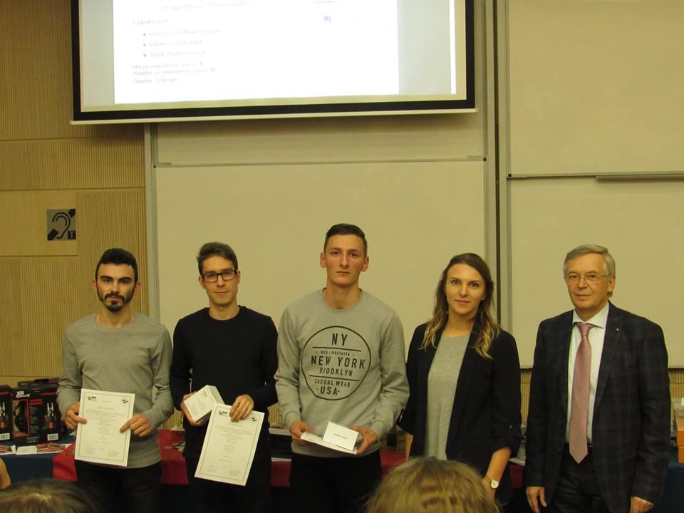 Studenți la Informatică, premiați  la un concurs regional de programare
