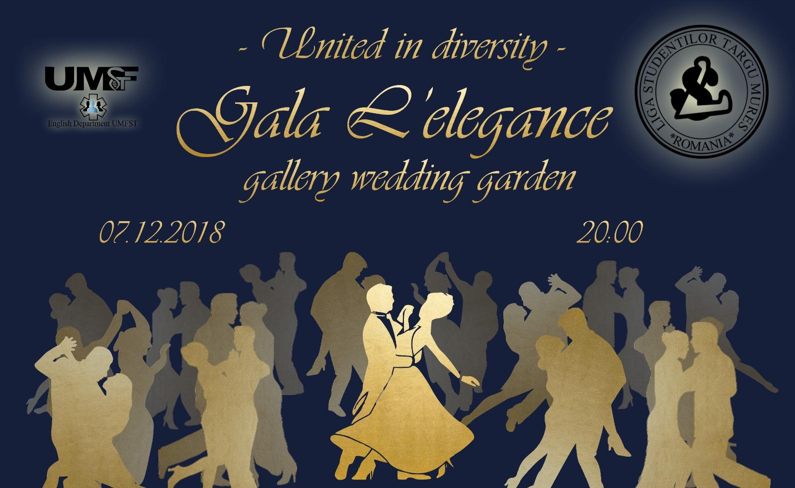 Studenții UMFST, invitați la Gala L'elegance