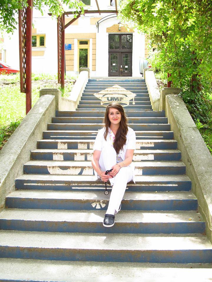 """Ioana Marcela Brînzac, studentul anului în România: """"La UMFST Târgu Mureș am învățat că prin muncă, perseverență și răbdare poți obtine tot ce îți dorești"""""""