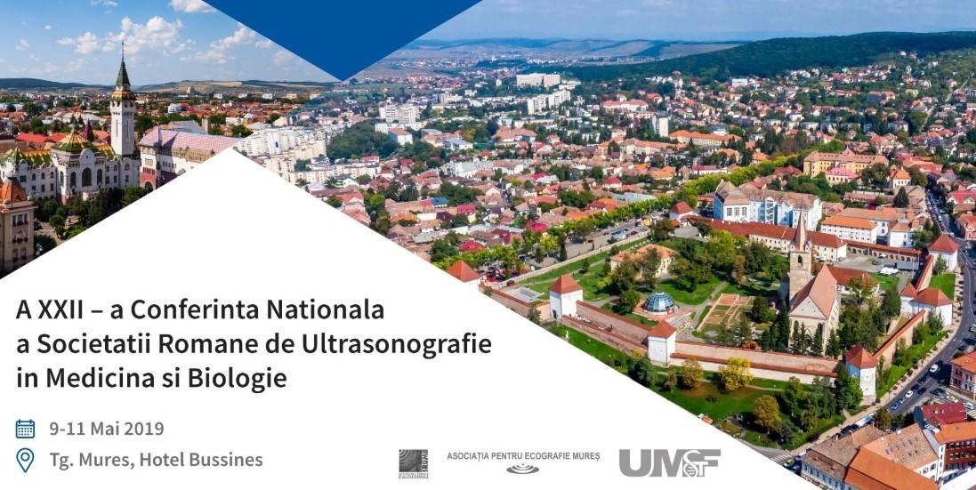 Lectori de renume din țară și din străinătate, la Conferința anuală a Societății Române de Ultrasonografie în Medicină și Biologie de la Târgu Mureș