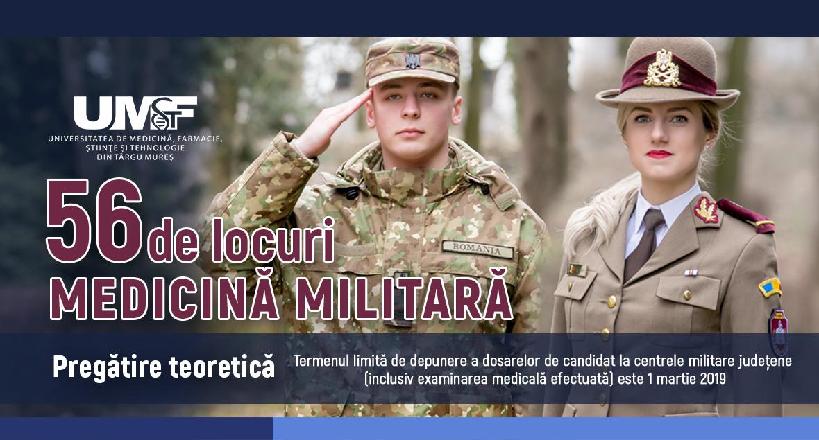 Admitere 2019 Medicină Militară. Etape de parcurs pentru a deveni student