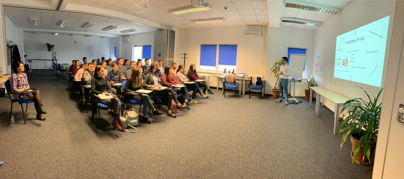 Workshop despre redactarea corectă a unui CV, cu specialiștii HR Hirschmann