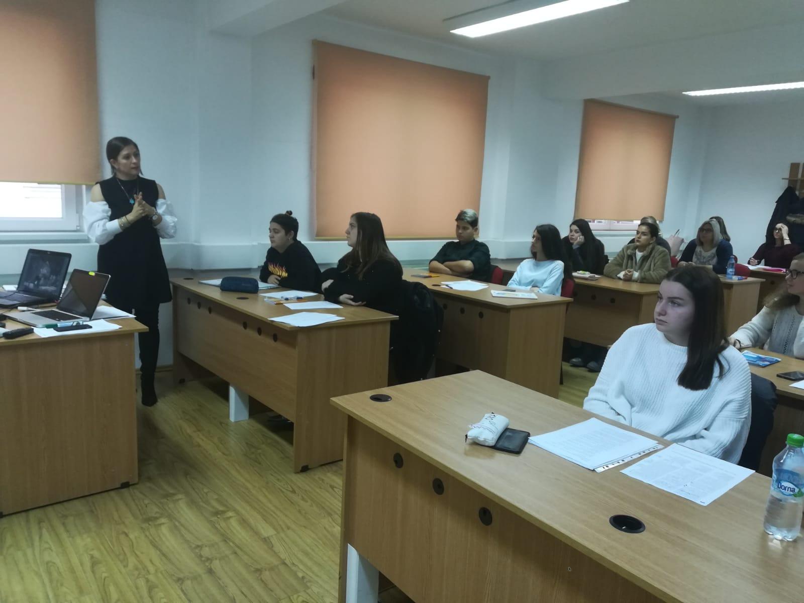 Workshop în domeniul traducerilor