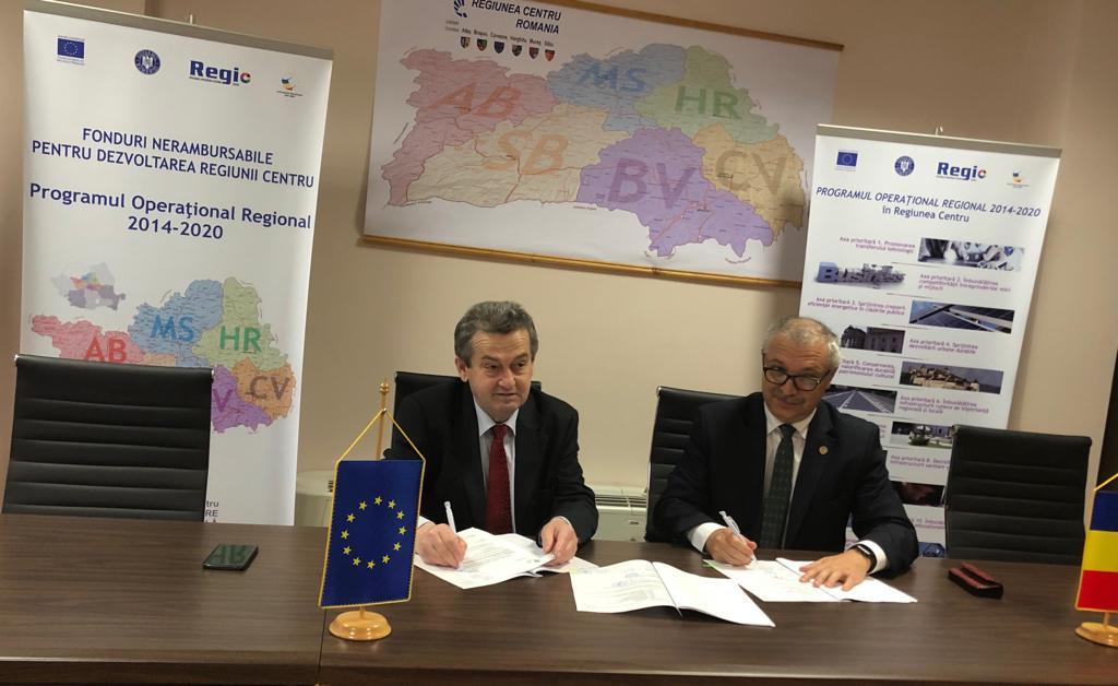 UMFST Târgu Mureș primește fonduri nerambursabile pentru reabilitarea și modernizarea clădirii principale