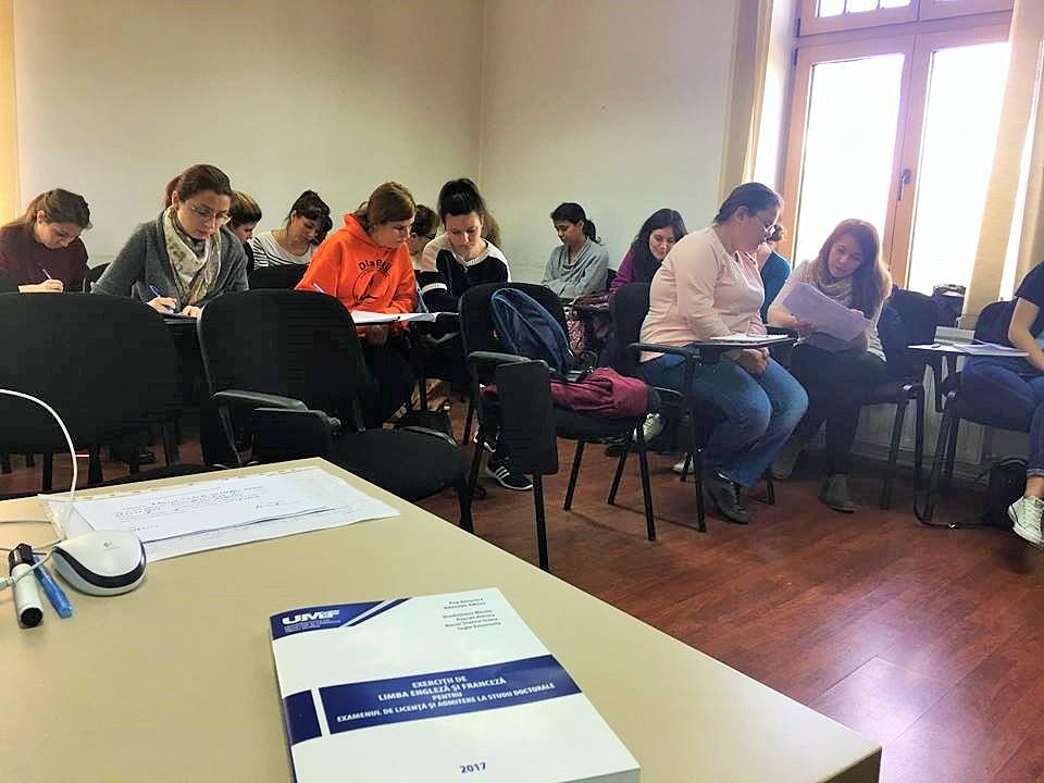 Pregătire la limbile engleză, franceză și germană pentru studenții de la Medicină, Medicină Dentară și Farmacie