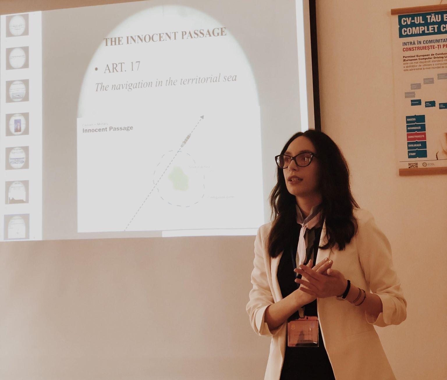 Studentă la Drept, pe podium în cadrul unui concurs internațional