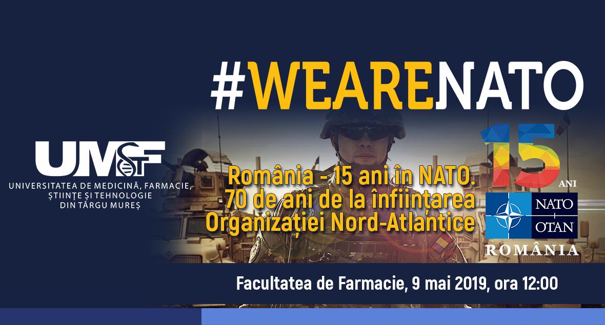 """Campania #WeAreNATO. Concurs cu tema """"Cea mai bună lucrare cu tematică militară prezentată într-o sesiune de comunicări științifice a studenților din universități de medicină și farmacie"""""""