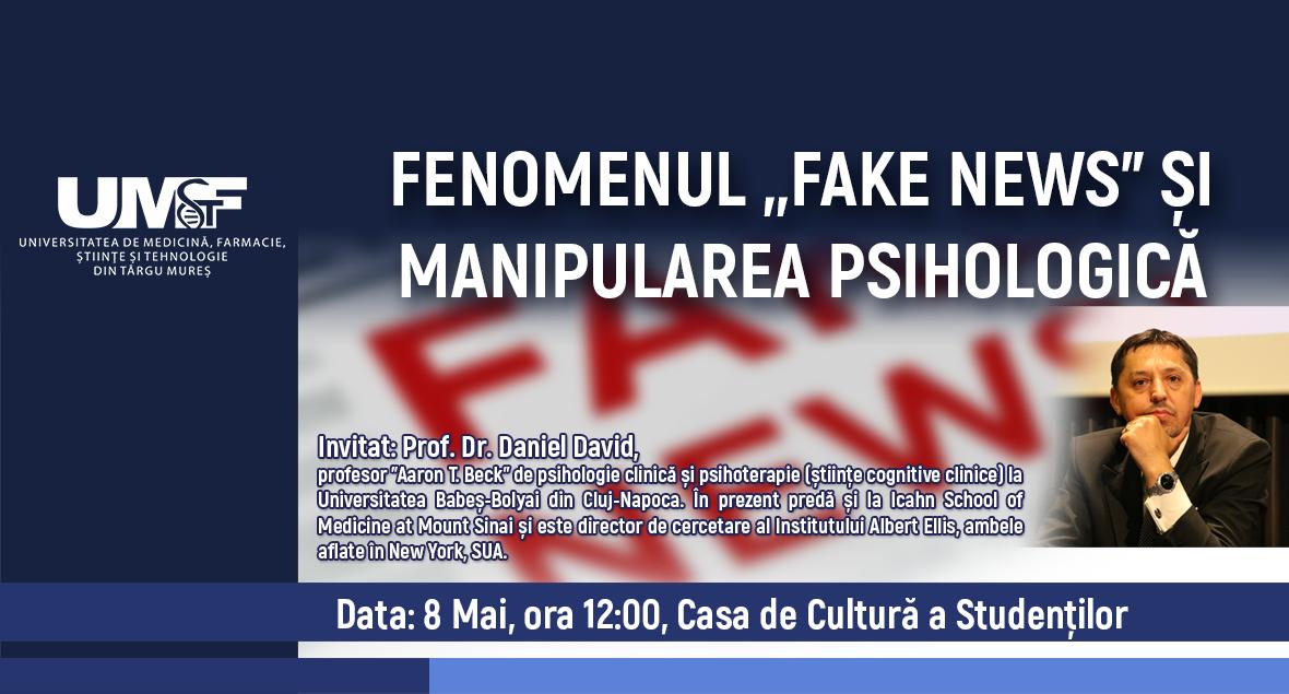 "Fenomenul ""Fake News"" și manipularea psihologică"