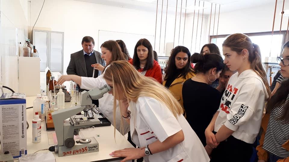 Partea practică și fascinantă a chimiei, explorată de elevi