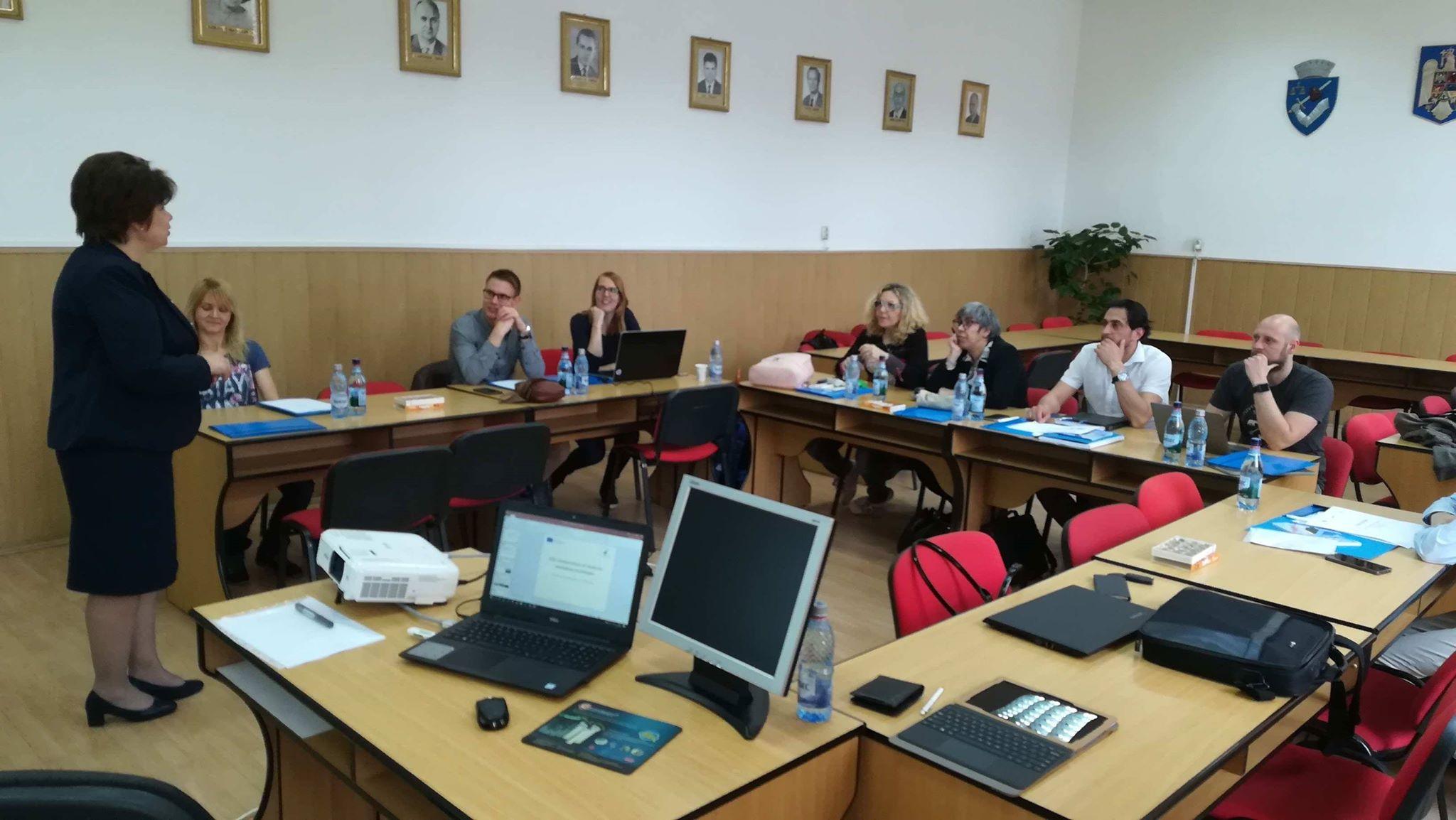 Specialiști din cinci țări europene, întâlnire de lucru la UMFST Târgu Mureș în cadrul proiectului CREATOR