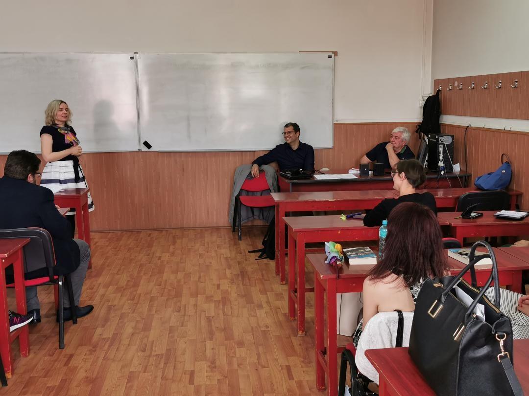 Lansare de carte și atelier interactiv de traducere, organizate de Departamentul de Filologie al UMFST Târgu Mureș