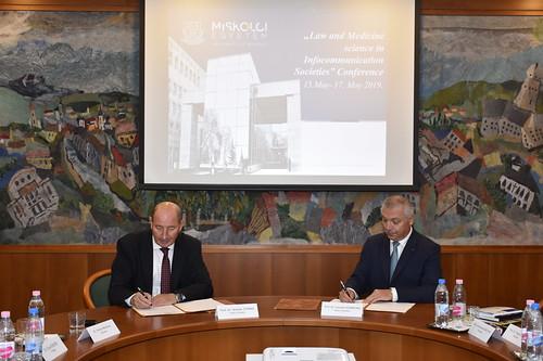 Parteneriat de colaborare între UMFST Târgu Mureș și Universitatea din Miskolc, Ungaria