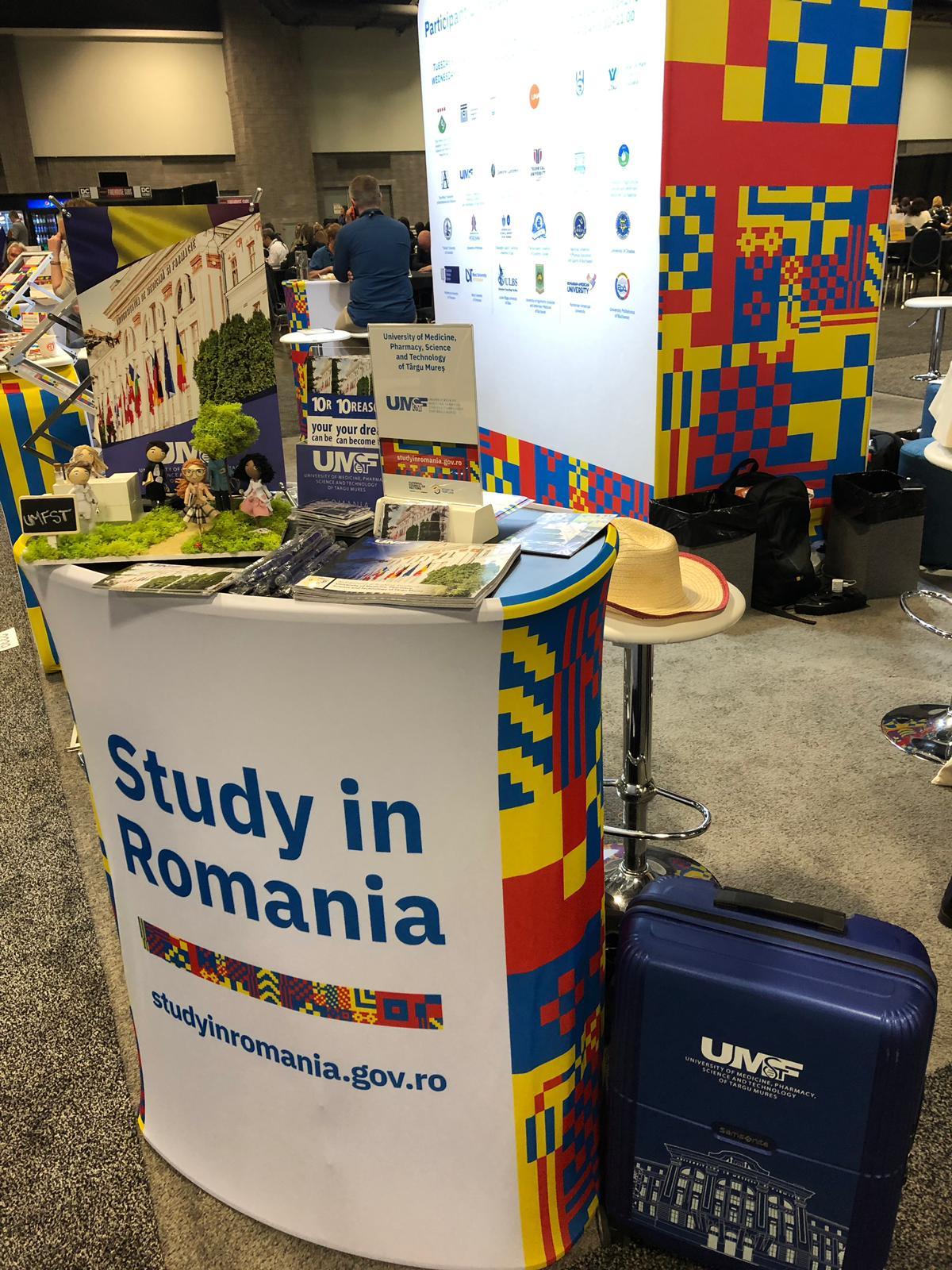 UMFST Târgu Mureș, reprezentată la cel mai important eveniment educațional la nivel global