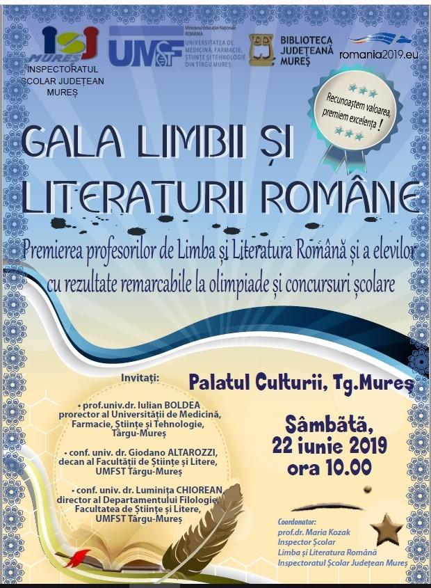Gala Limbii şi Literaturii Române